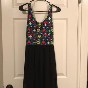 Maxi Dress w/slots on both side
